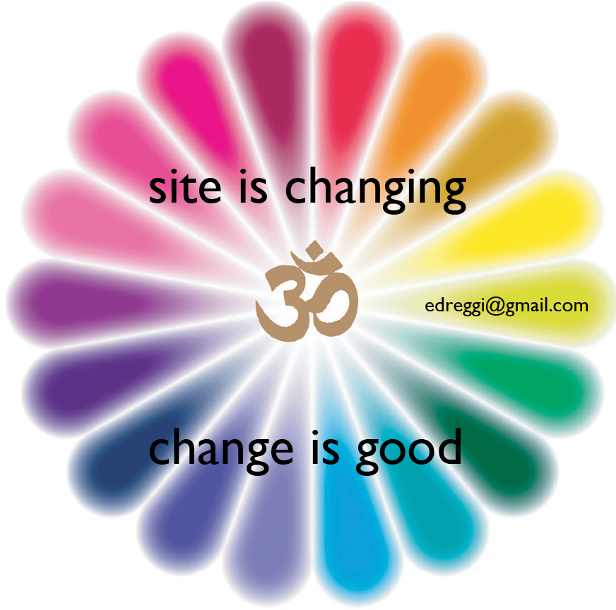 site is changing, change is good - edreggi [at] gmail [dot] com